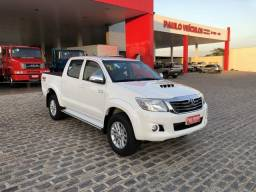 Toyota Hilux SRV automática R17 top - 2015