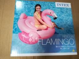 Boia para piscina flamingo intex