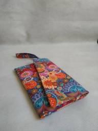 Carteira em tecido - Produto novo