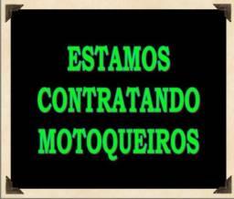 Vagas para Motoqueiros(as) com Motos próprias
