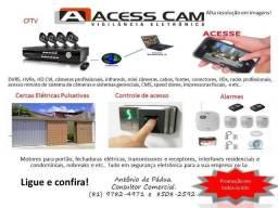 Sistemas de câmeras (CFTV), de todos os portes
