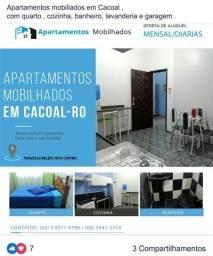 Apartamentos mobiliados