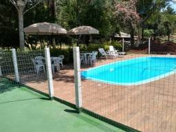 Adquira seu sitio em São Sebastião do Cai - Piscina pracinha e salão de festas