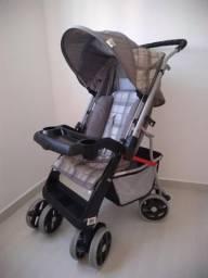 Carrinho de Bebê Tutti Baby Thor - Cinza - Ótimo estado!
