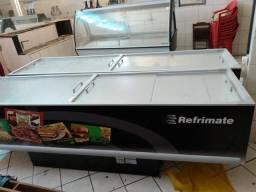 Vendo frizer ilha pratileira balcão para supermercado