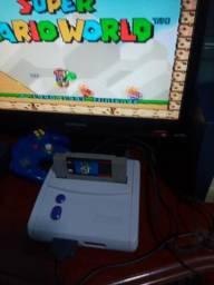 Super Nintendo baby com Mario