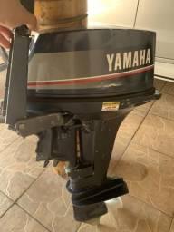 Motor de popa Yamaha 15 Hp ano 91 - 1991