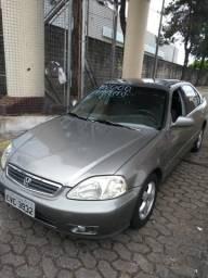 Vendo Honda Civic LX automatico ano 2.000 em bom estado 5.p 106 cv Completo 9- * - 2000