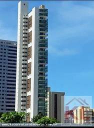 Lindo Apto, 18° andar, 4 suites, 3 vagas, vista mar, Ed. Milanesi, Cabo Branco