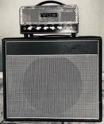 Timbre Britânico - Amplificador Valvulado Vox Nitgh Train + Caixa com Falante Fender comprar usado  Campo Grande