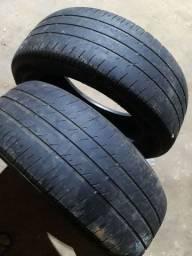 2 pneu 215 55  17 sem defeito