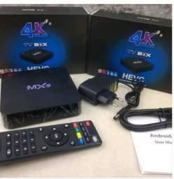 Tv box mx9  já configurado