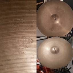 Medium thin ride 22 Zildjian Avedis 22 decada de 70