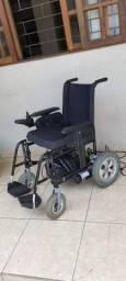 Cadeira De Rodas Motorizada Elétrica E4 Ulx Ortobras Alumínio