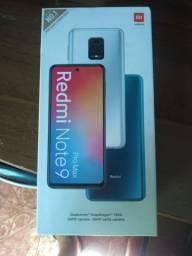 Xiaomi redmi Note 9 Pro Max 8Gb 128Gb Aceito Trocas