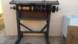 Lixadeira, Motor, Pé de ferro e Máquina de costura