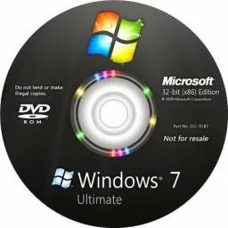 CD Windows 7 instalaçao