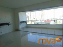 Apartamento à venda com 3 dormitórios em Setor marista, Goiânia cod:NOV235761