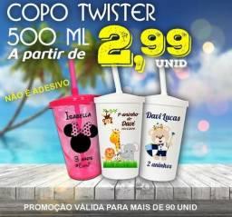 Copo Twister 550 ml