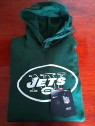 Blusa Nova New York Jets Nlf Original Importada Nike Therma Fit. Tam XL