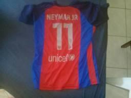 Camisa do Barcelona do Neymar