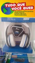 Headphone Bluetooth Sem Fio - Fm - Atende Chamada