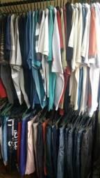 LOTE 50 peças roupas masculinas para Brecho atacado