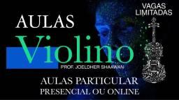 AULA DE VIOLINO PARTICULAR VAGAS LIMITADAS