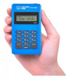 Kit 5 unidades máquina de cartão mercado pago