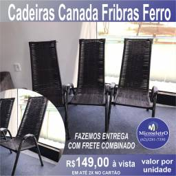 Cadeiras Canada Fibras Ferro