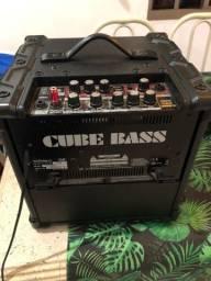 Amplificador Cubo Baixo Roland CB20XL 20w Com Efeitos