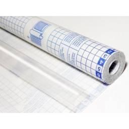Plástico Adesivo 45 x 25 metros Transparente Micra 70 - Plastcover