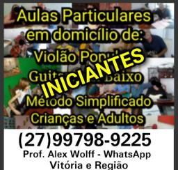 (27)99798.9225 ZAP Aulas de Violão p/Iniciantes