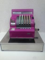 Máquina Registradora National / Decoração Vintage