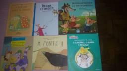 Livros Escolares Diversos (06 Livros)