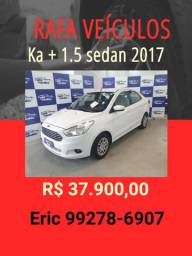 Ka 1.5 + sedan 2017 R$ 37.900,00 - Eric Rafa Veículos -iut2