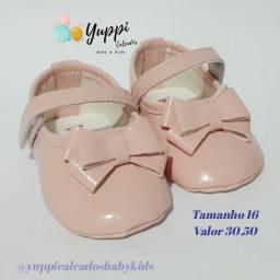 Calçados de bebê