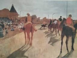 Poster do famoso pintor moderno, Degad