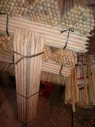 Cabos de madeira pinus