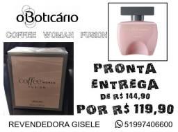 Perfume COFFEE WOMAN FUSION (O Boticário) Original