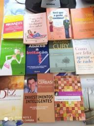 Colecao de livros usados em perfeito estado,17 unidades