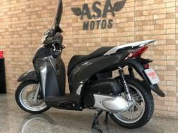 Honda Sh 300i Cinza Com Apenas 2.300 Km Rodados!