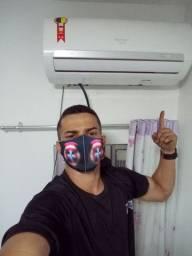 Serviço em ar condicionado