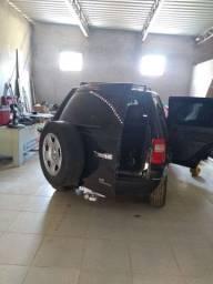 Vendo ou troca Ecosport XLT automática completa ano 2007 cor preta