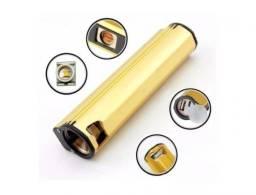 Isqueiro Multifuncional Usb 3×1 Lanterna Isqueiro Power Bank
