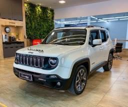 Jeep Renegade Longitude 1.8 Flex Branco Pérola Completa Top!!!