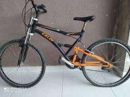 bike caloi de trilha full suspension valor negociável VENDA URGENTE