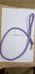 Guia de corda para coleira de cachorro