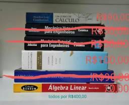 Livros de Engenharia usados