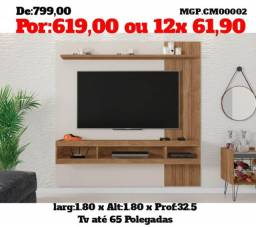 Painel de televisão TV - Painel de tv até 65 Plg- Liquida em MS